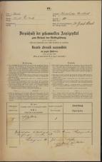 Popis prebivalstva 31. 12. 1869<br />Ljubljana<br />Karlovško predmestje 10<br />Population census 31 December 1869