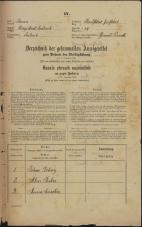 Popis prebivalstva 31. 12. 1869<br />Ljubljana<br />Karlovško predmestje 14<br />Population census 31 December 1869
