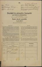 Popis prebivalstva 31. 12. 1869<br />Ljubljana<br />Karlovško predmestje 2<br />Population census 31 December 1869