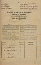 Popis prebivalstva 31. 12. 1869<br />Ljubljana<br />Karlovško predmestje 24<br />Population census 31 December 1869