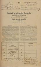 Popis prebivalstva 31. 12. 1869<br />Ljubljana<br />Karlovško predmestje 25<br />Population census 31 December 1869