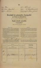 Popis prebivalstva 31. 12. 1869<br />Ljubljana<br />Karlovško predmestje 26<br />Population census 31 December 1869