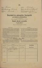 Popis prebivalstva 31. 12. 1869<br />Ljubljana<br />Karlovško predmestje 27<br />Population census 31 December 1869