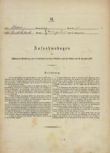 Popis prebivalstva 31. 12. 1869<br />Ljubljana<br />Karolinska zemlja 70<br />Population census 31 December 1869