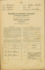Popis prebivalstva 31. 12. 1869<br />Ljubljana<br />Krakovsko predmestje 31<br />Population census 31 December 1869