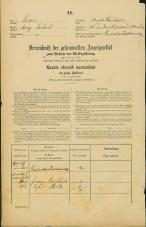 Popis prebivalstva 31. 12. 1869<br />Ljubljana<br />Krakovsko predmestje 36<br />Population census 31 December 1869