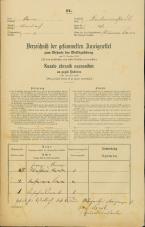 Popis prebivalstva 31. 12. 1869<br />Ljubljana<br />Krakovsko predmestje 37<br />Population census 31 December 1869