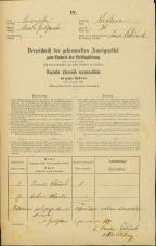Popis prebivalstva 31. 12. 1869<br />Ljubljana<br />Krakovsko predmestje 38<br />Population census 31 December 1869