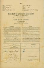 Popis prebivalstva 31. 12. 1869<br />Ljubljana<br />Krakovsko predmestje 41<br />Population census 31 December 1869