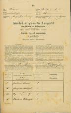Popis prebivalstva 31. 12. 1869<br />Ljubljana<br />Krakovsko predmestje 43<br />Population census 31 December 1869