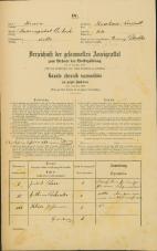 Popis prebivalstva 31. 12. 1869<br />Ljubljana<br />Krakovsko predmestje 44<br />Population census 31 December 1869