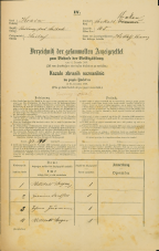 Popis prebivalstva 31. 12. 1869<br />Ljubljana<br />Krakovsko predmestje 45<br />Population census 31 December 1869