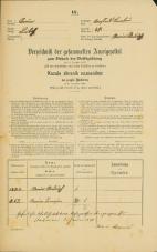 Popis prebivalstva 31. 12. 1869<br />Ljubljana<br />Krakovsko predmestje 47<br />Population census 31 December 1869