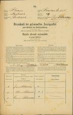 Popis prebivalstva 31. 12. 1869<br />Ljubljana<br />Krakovsko predmestje 49<br />Population census 31 December 1869