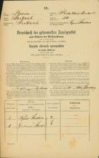 Popis prebivalstva 31. 12. 1869<br />Ljubljana<br />Krakovsko predmestje 50<br />Population census 31 December 1869