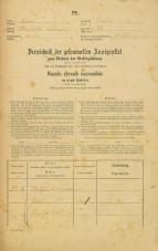 Popis prebivalstva 31. 12. 1869<br />Ljubljana<br />Krakovsko predmestje 68<br />Population census 31 December 1869