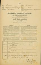 Popis prebivalstva 31. 12. 1869<br />Ljubljana<br />Krakovsko predmestje 69<br />Population census 31 December 1869