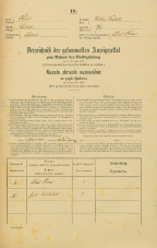 Popis prebivalstva 31. 12. 1869<br />Ljubljana<br />Krakovsko predmestje 71<br />Population census 31 December 1869