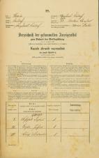 Popis prebivalstva 31. 12. 1869<br />Ljubljana<br />Krakovsko predmestje 73<br />Population census 31 December 1869