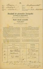 Popis prebivalstva 31. 12. 1869<br />Ljubljana<br />Krakovsko predmestje 74<br />Population census 31 December 1869