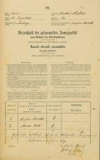 Popis prebivalstva 31. 12. 1869<br />Ljubljana<br />Krakovsko predmestje 75<br />Population census 31 December 1869
