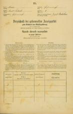 Popis prebivalstva 31. 12. 1869<br />Ljubljana<br />Kurja vas 1<br />Population census 31 December 1869