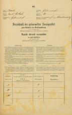 Popis prebivalstva 31. 12. 1869<br />Ljubljana<br />Kurja vas 10<br />Population census 31 December 1869