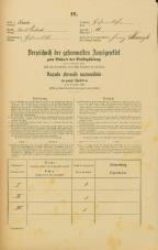 Popis prebivalstva 31. 12. 1869<br />Ljubljana<br />Kurja vas 11<br />Population census 31 December 1869