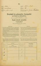 Popis prebivalstva 31. 12. 1869<br />Ljubljana<br />Kurja vas 13<br />Population census 31 December 1869