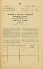 Popis prebivalstva 31. 12. 1869<br />Ljubljana<br />Kurja vas 8<br />Population census 31 December 1869