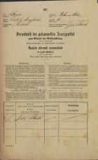 Popis prebivalstva 31. 12. 1869<br />Ljubljana<br />Poljansko predmestje 11<br />Population census 31 December 1869