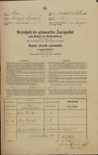 Popis prebivalstva 31. 12. 1869<br />Ljubljana<br />Poljansko predmestje 13<br />Population census 31 December 1869