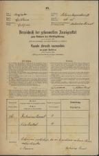 Popis prebivalstva 31. 12. 1869<br />Ljubljana<br />Poljansko predmestje 26<br />Population census 31 December 1869
