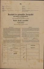 Popis prebivalstva 31. 12. 1869<br />Ljubljana<br />Poljansko predmestje 51<br />Population census 31 December 1869