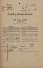 Popis prebivalstva 31. 12. 1869<br />Ljubljana<br />Poljansko predmestje 56<br />Population census 31 December 1869