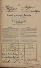 Popis prebivalstva 31. 12. 1869<br />Ljubljana<br />Poljansko predmestje 57<br />Population census 31 December 1869