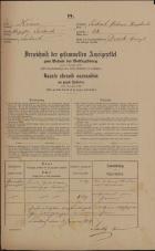 Popis prebivalstva 31. 12. 1869<br />Ljubljana<br />Poljansko predmestje 58<br />Population census 31 December 1869