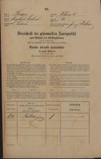 Popis prebivalstva 31. 12. 1869<br />Ljubljana<br />Poljansko predmestje 62<br />Population census 31 December 1869