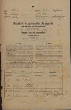 Popis prebivalstva 31. 12. 1869<br />Ljubljana<br />Poljansko predmestje 74<br />Population census 31 December 1869