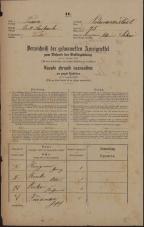 Popis prebivalstva 31. 12. 1869<br />Ljubljana<br />Poljansko predmestje 75<br />Population census 31 December 1869