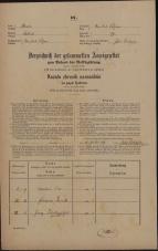 Popis prebivalstva 31. 12. 1869<br />Ljubljana<br />Poljansko predmestje 79<br />Population census 31 December 1869