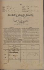 Popis prebivalstva 31. 12. 1869<br />Ljubljana<br />Poljansko predmestje 80<br />Population census 31 December 1869