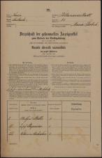 Popis prebivalstva 31. 12. 1869<br />Ljubljana<br />Poljansko predmestje 81<br />Population census 31 December 1869