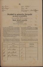 Popis prebivalstva 31. 12. 1869<br />Ljubljana<br />Poljansko predmestje 82<br />Population census 31 December 1869