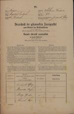 Popis prebivalstva 31. 12. 1869<br />Ljubljana<br />Poljansko predmestje 92<br />Population census 31 December 1869