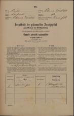 Popis prebivalstva 31. 12. 1869<br />Ljubljana<br />Poljansko predmestje 94<br />Population census 31 December 1869