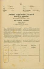 Popis prebivalstva 31. 12. 1869<br />Ljubljana<br />Svetega Petra predmestje 12<br />Population census 31 December 1869