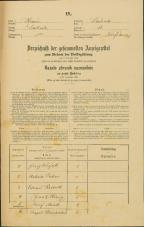 Popis prebivalstva 31. 12. 1869<br />Ljubljana<br />Svetega Petra predmestje 13<br />Population census 31 December 1869