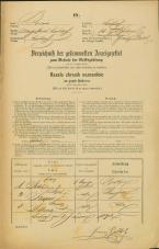Popis prebivalstva 31. 12. 1869<br />Ljubljana<br />Svetega Petra predmestje 15<br />Population census 31 December 1869