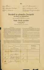 Popis prebivalstva 31. 12. 1869<br />Ljubljana<br />Svetega Petra predmestje 17<br />Population census 31 December 1869